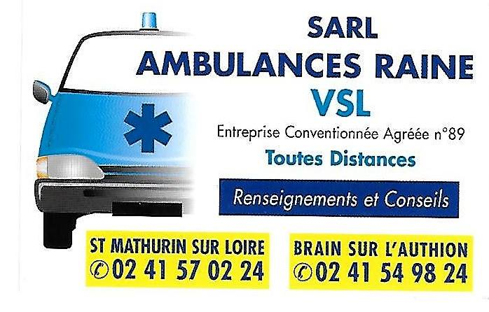 Ambulances Taxis Raine